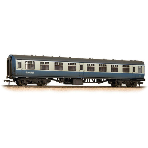 GRAHAM FARISH BR Mk1 SK Second Corridor BR Blue & Grey with ScotRail Branding Weathered