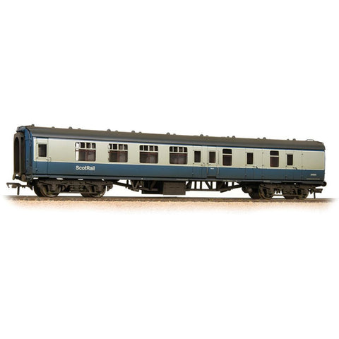 GRAHAM FARISH BR Mk1 BSK Brake Second Corridor BR Blue & Grey with ScotRail Branding Weathered - Hearns Hobbies Melbourne - GRAHAM FARISH
