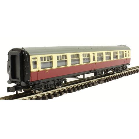 GRAHAM FARISH Bulleid 63ft Second Corridor BR Crimson & Cream - Hearns Hobbies Melbourne - GRAHAM FARISH