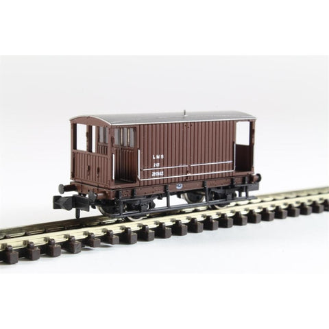 GRAHAM FARISH Midland 20 Ton Brake Van LMS Bauxite : Available - Hearns Hobbies Melbourne - GRAHAM FARISH