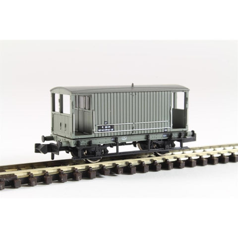 GRAHAM FARISH Midland 20 Ton Brake Van BR  Grey : Available - Hearns Hobbies Melbourne - GRAHAM FARISH
