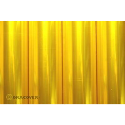 Image of PROFILM Transparent Yellow 60cm 2 Metre Roll