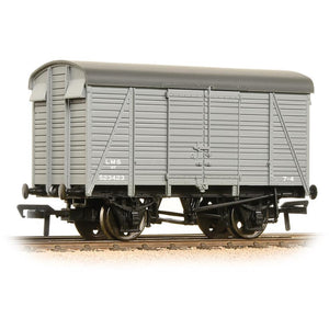 BRANCHLINE 12 Ton Southern 2+2 Planked Ventilated Van LMS Grey (38-080C)