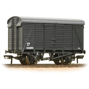 BRANCHLINE 12 Ton Southern 2+2 Planked Ventilated Van GWR Grey (38-083A)