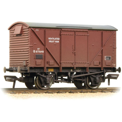 BRANCHLINE 12 Ton BR Plywood Fruit Van BR Bauxite (Late) Weathered (38-183A)