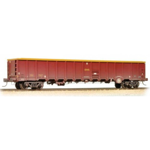 BRANCHLINE MBA Megabox Bogie Box Wagon EWS Weathered (with Buffers) - Hearns Hobbies Melbourne - BRANCHLINE