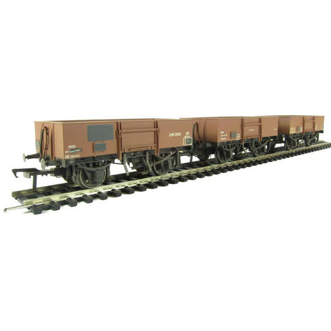 Image of BRANCHLINE OO BR Triple Pack 13 Ton High Sided Steel Open W
