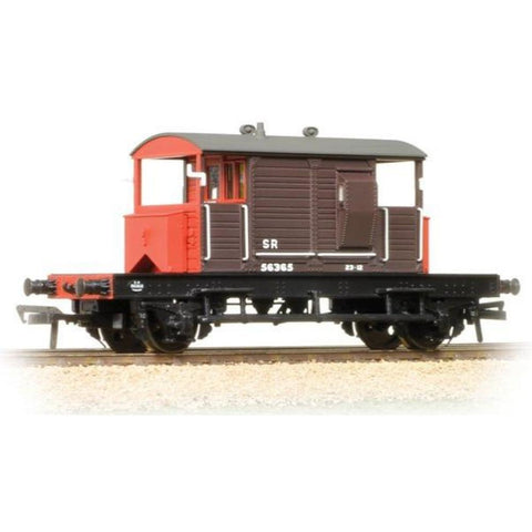 BRANCHLINE SR 25 Ton Pill Box Brake Van SR Brown L/H Ducket