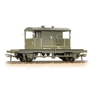 BRANCHLINE OO SR 25T 'Pill Box' Brake Van BR Departmental R