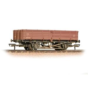 Image of BRANCHLINE OO 12 Ton Pipe Wagon BR Bauxite (Early) Weathered