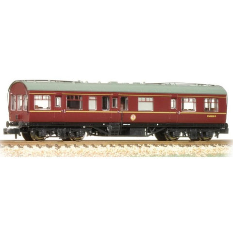 BRANCHLINE LMS 50' Inspection Coach BR Maroon with Maroon Ends - Hearns Hobbies Melbourne - BRANCHLINE