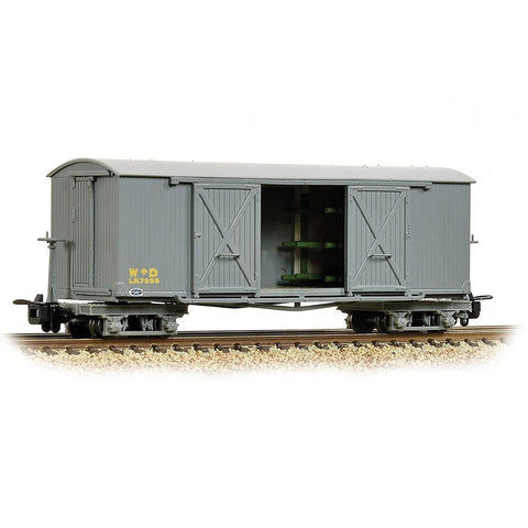 BACHMANN NARROW GAUGE OO9 Bogie Covered Ambulance Van WD Gr