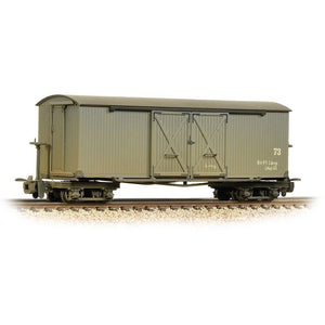 BACHMANN NARROW GAUGE OO9 Bogie Covered Goods Wagon Nocton