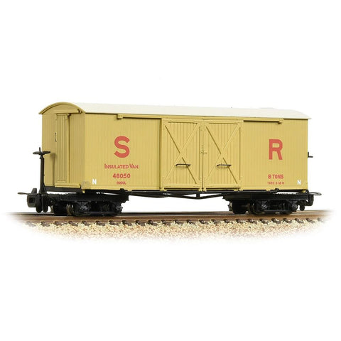 BACHMANN NARROW GAUGE OO9 Bogie Covered Goods Wagon SR Insu