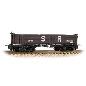 BACHMANN NARROW GAUGE OO9 Open Bogie Wagon SR Brown
