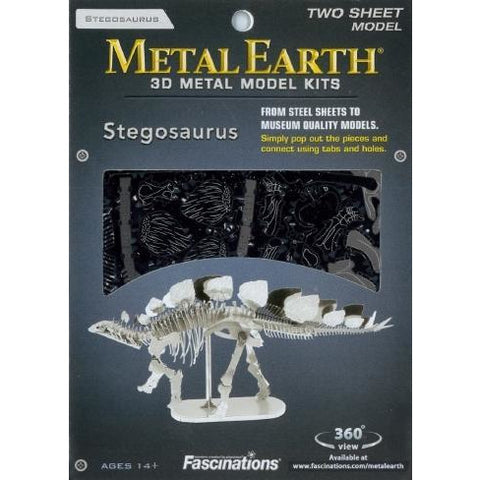 Metal Earth - Dinosaur Stegosaurus Skeleton
