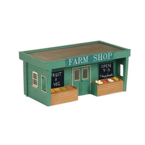 SCENECRAFT N  Road Side Farm Shop 42mm x 23mm x 20mm