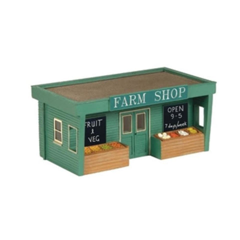 SCENECRAFT NRoad Side Farm Shop 42mm x 23mm x 20mm