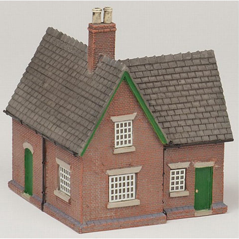 SCENECRAFT N  Crossing Keeper's Cottage 41mm x 47mm x 52mm