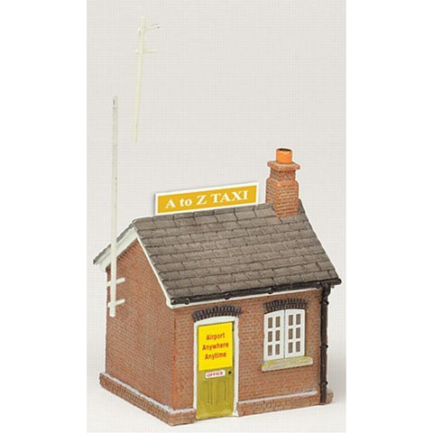 SCENECRAFT N  Taxi Office 25mm x 22mm x 32mm - Hearns Hobbies Melbourne - SCENECRAFT
