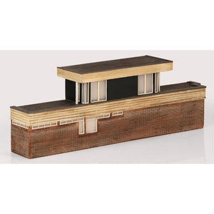 SCENECRAFT N  Low Relief Power Signal Box 120mm x 24mm x 40mm - Hearns Hobbies Melbourne - SCENECRAFT