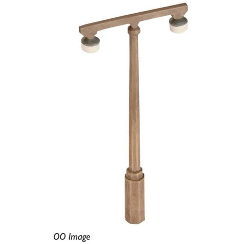 SCENECRAFT N  Concrete Platform Lamps (x4) 17mm x 8mm x 37mm - Hearns Hobbies Melbourne - SCENECRAFT