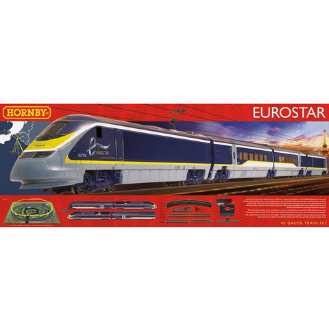 HORNBY OO - Eurostar Train Set