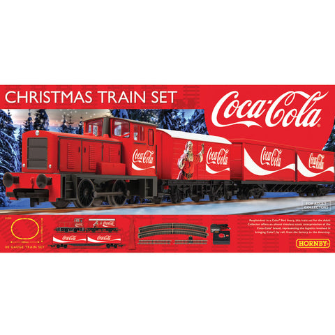 Image of HORNBY OO - Coca-Cola Christmas Train Set