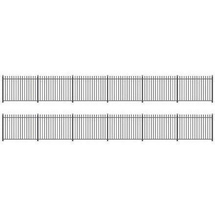 RATIO OO GWR Spear Fencing - 700mm Straight