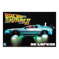 Image of AOSHIMA 1/24 BACK TO THE FUTURE DELOREAN from PART II