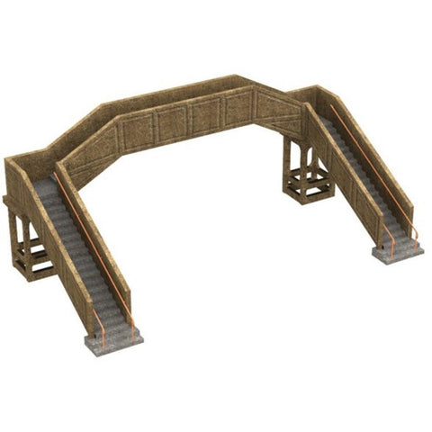 SCENECRAFT OOConcrete footbridge 222mm x 118mm x 80mm