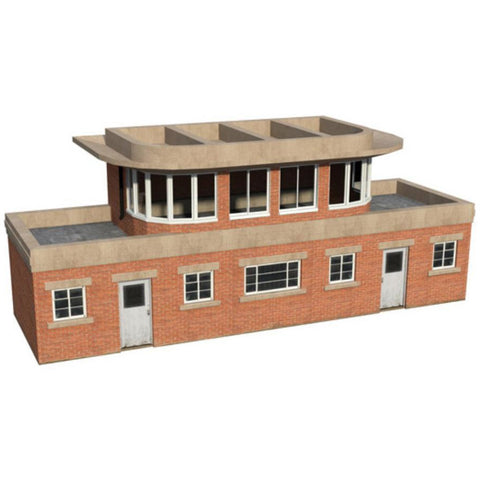 SCENECRAFT OO  Art Deco Signal Box 180mm x 55mm x 73mm