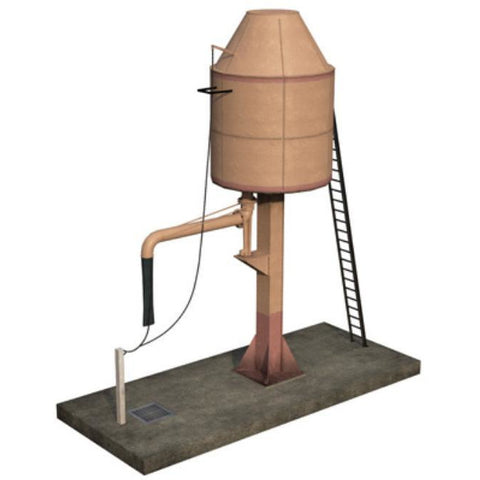 SCENECRAFT OO  Parachute Water Tower 96mm x 40mm x 100mm - Hearns Hobbies Melbourne - SCENECRAFT
