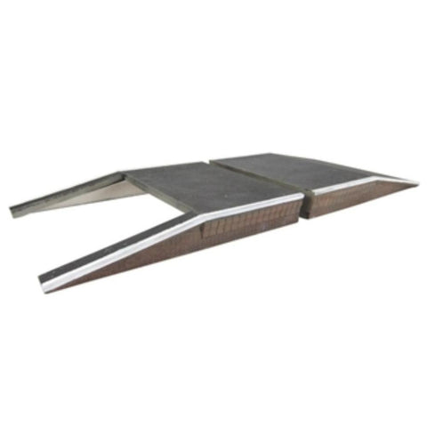 SCENECRAFT OO  Two Platform Ramps 122mm x 165mm x 20mm - Hearns Hobbies Melbourne - SCENECRAFT