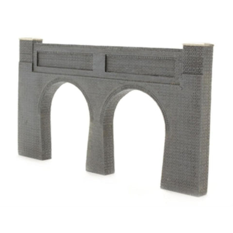 SCENECRAFT OO  Low Relief Double Track Tunnel Portal 175mm x 10mm x 94mm - Hearns Hobbies Melbourne - SCENECRAFT