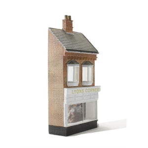 SCENECRAFT OO  Low Relief Lyons Corner House 66mm x 19mm x 109mm