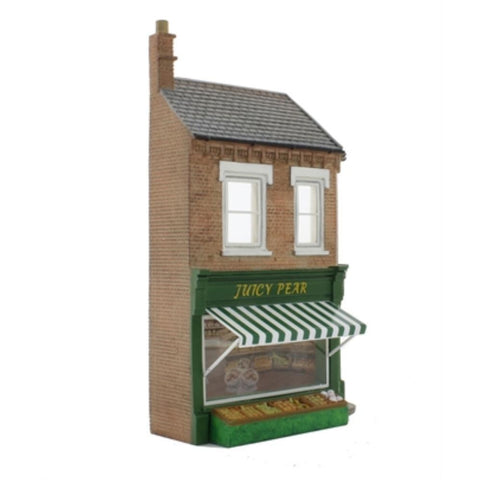 SCENECRAFT OO  Low Relief Greengrocers 66mm x 19mm x 109mm