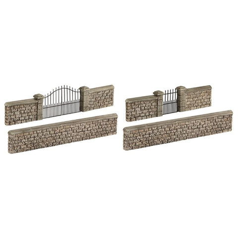 SCENECRAFT OO Stone Walls and Gates