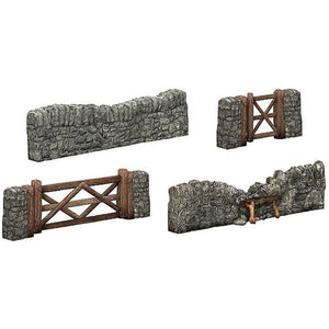 SCENECRAFT OO  Dry Stone Walling and Gates