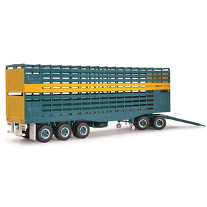 HIGHWAY REPLICAS 1/64 Livestock Trailer & Dolly 'Bagshaw' (