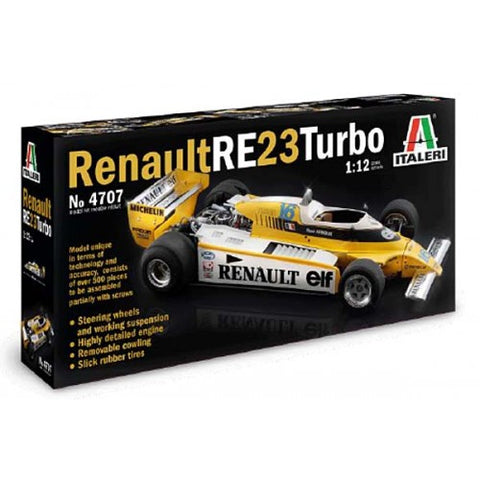 ITALERI Renault RE 23 Turbo 1:12 Scale
