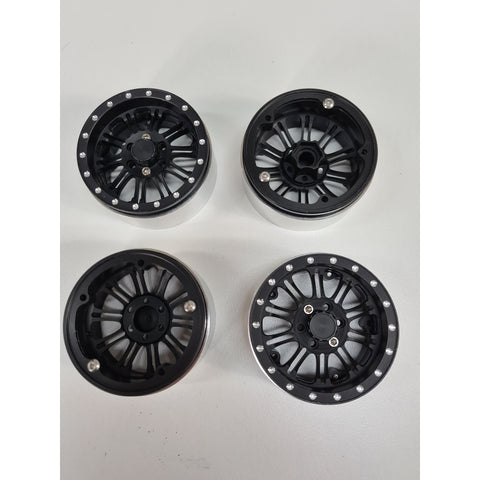 EXO 4X4 Montare 2.2 Beadlock Wheel (Black Alloy)