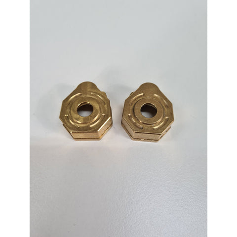Image of EXO 4X4 TRX4 brass protals (2/ 40g each)