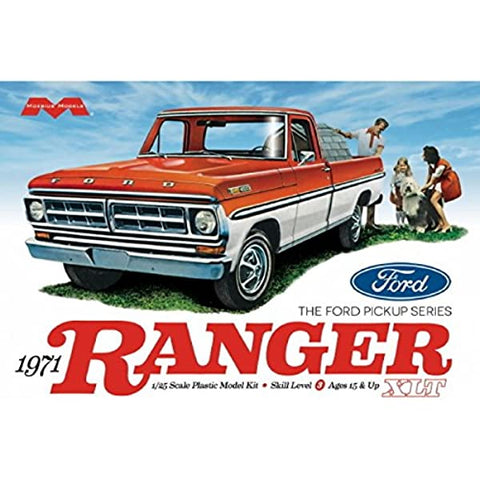 MOEBIUS 1/25 1971 Ford Ranger Pickup Plastic Kit