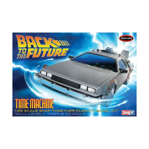 Image of POLAR LIGHTS 1/25 Back to the Future Time Machine Model Kit