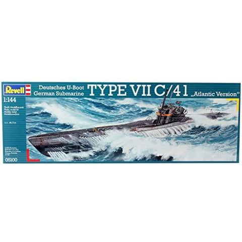 "REVELL 1/144 German U-Boot Type VII C/41 ""Atlantic Version"""