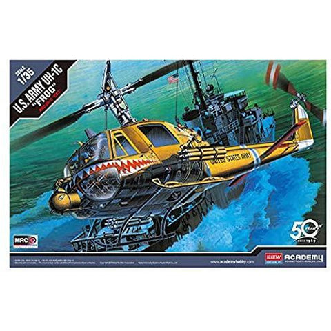 ACADEMY 1/35 UH-1C HUEY FROG Plastic Model Kit
