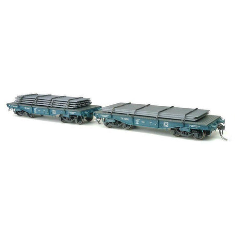 SDS TE WAGON WITH STEEL LOAD - TWIN PACKS