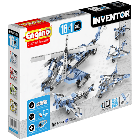 Inventor 16 Models Aircrafts | By Engino