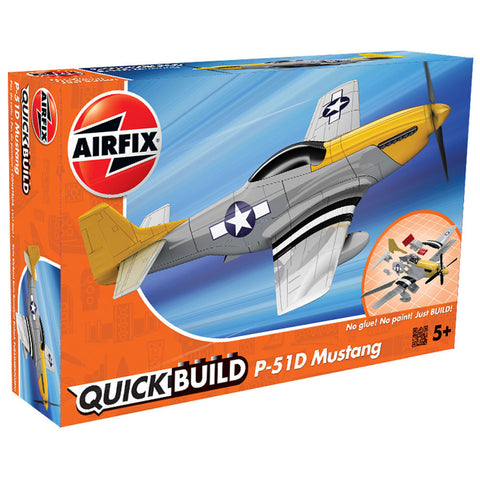 Image of AIRFIX Quickbuild P-51D Mustang